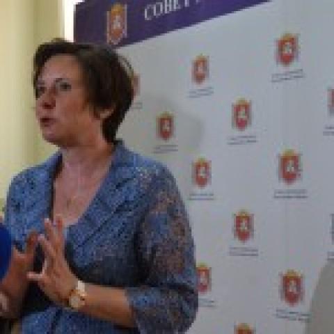 Светлана Разворотнева на совещании «Развитие системы общественного контроля в сфере ЖКХ в Республике Крым»