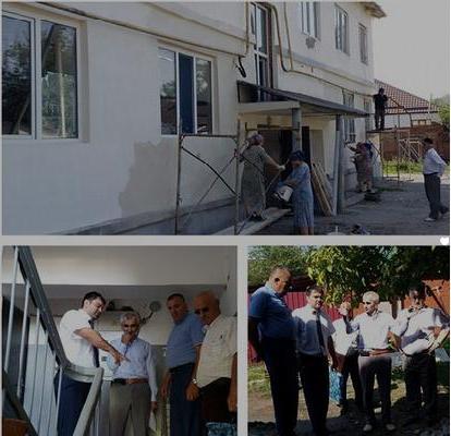 Инспекция работ по капремонту МКД г. Аргуни г. Гудермес