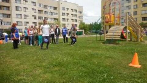 День соседей в п. Новосмолинском Володарского района Нижегородской области