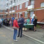 В г.Донской Тульской области заселяют дом по программе переселения из аварийного жилья