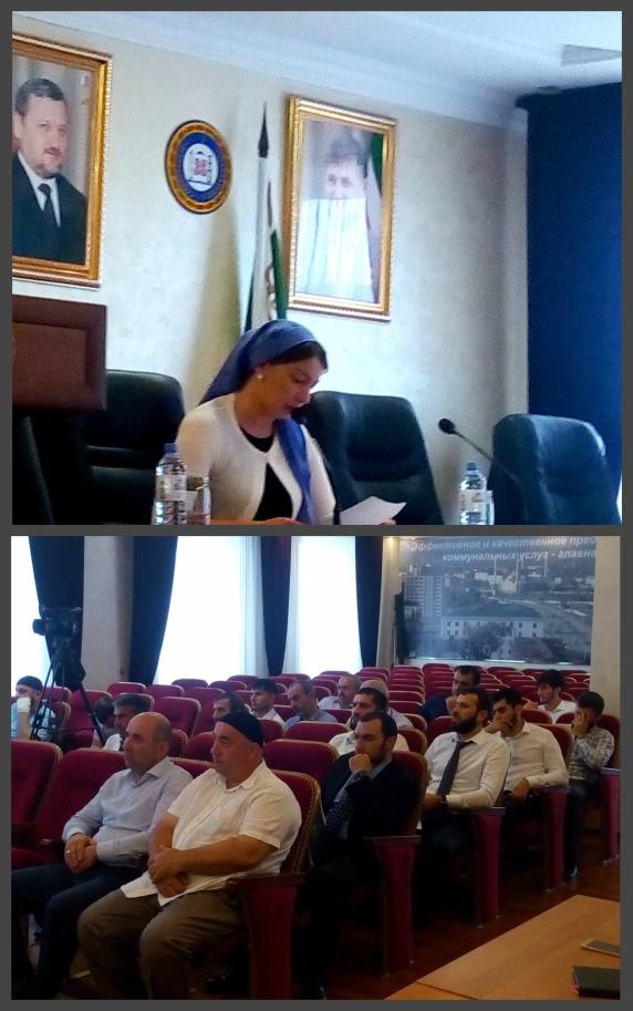 Заместитель Руководителя «ЖКХ Контроль»   в Чеченской Республике вошел  республиканскую межведомственную комиссию по обеспечению реализации приоритетного проекта «Формирование комфортной городской среды»