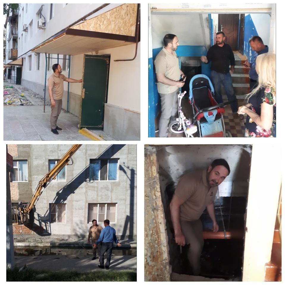 «ЖКХ Контроль»   Чеченской Республики  ведет контроль над капитальным ремонтом в Регионе.