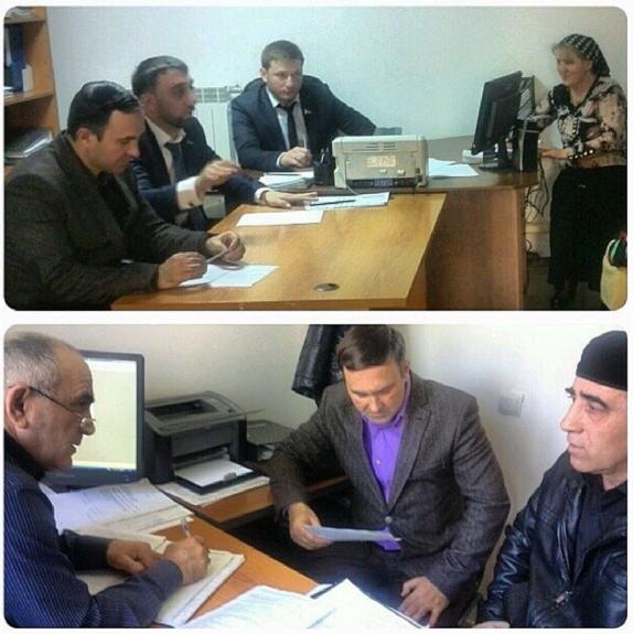 В общественной палате ЧР,  представителями   Регионального центра«ЖКХ Контроль» в очередной  раз провели прием граждан  .