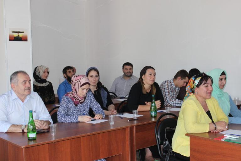 Активные жители многоквартирных домов г.Грозный приняли участия на семинаре знания системы ЖКХ