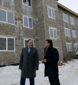 Дом для переселенцев в Савино будет достроен