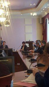5 апреля состоялось заседание Общественного совета второго округа