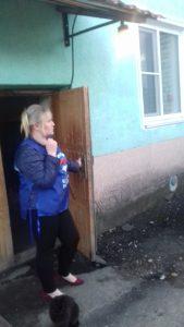 Освещение подъездов проверили в поселке Шаранга Нижегородской области