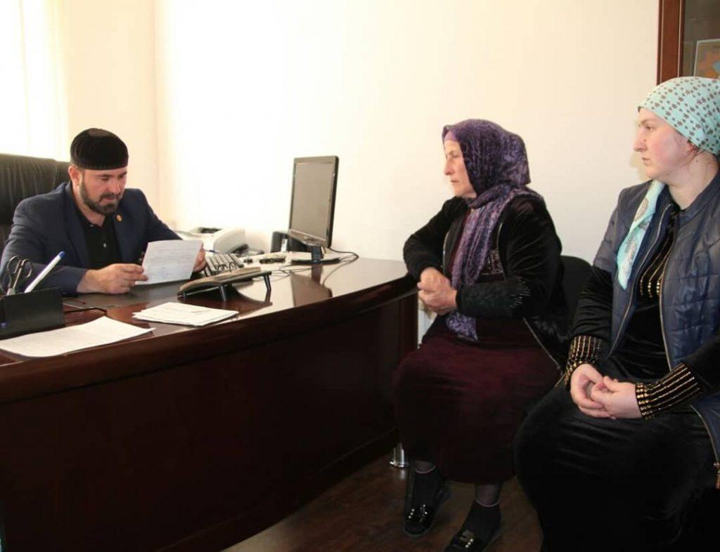Оказание правовой помощи гражданам республики - важное направление деятельности  ЖКХ Контроль по Чеченской Республике