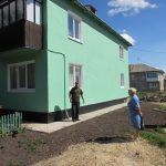В с.Архенгельское Каменского района Тульской области заканчивается капитальный ремонт фасада