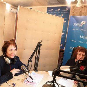 Руководитель Центра ЖКХ Контроль Иркутской области приняла участие в прямом эфире на Радио России