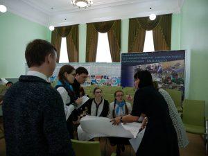 В детском технопарке «Кванториум-Тамбов» 27 февраля провели деловую игру «Открытое ЖКХ».