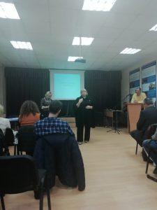 Обучающий семинар на площадке ШГП.
