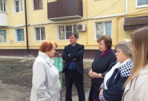«Жилищные Контролеры» проверили качество капремонта в Новоусманском районе