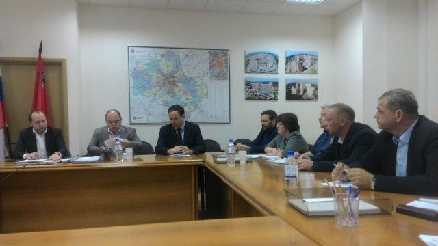 Установочное совещание в Министерстве строительного комплекса