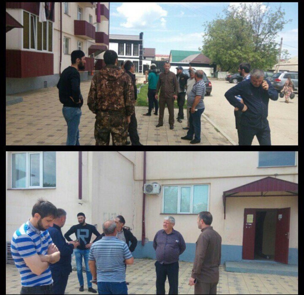 Представители Регионального центра ЖКХ контроль встретились с населением