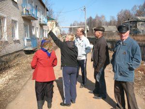 Благоустройство дворов МКД обсудили в Тонкинском районе Нижегородской области