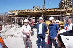 Общественники проверили строительство Дворца спорта в Самаре