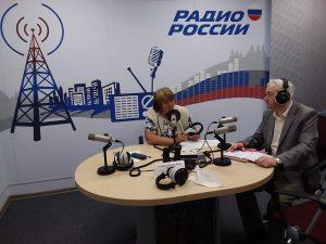 Очередной радиоприем для вологжан провел руководитель Регионального центра ЖКХ Вавилов В.В.