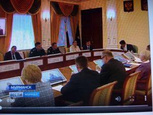Заседание Совета по защите прав потребителей Мурманской области.