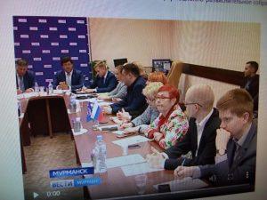 Встреча с населением о реализации национального проекта